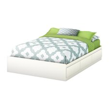 Full Size Storage Platform Bed II