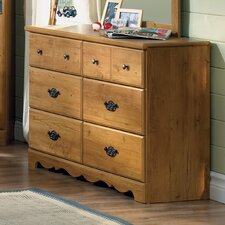 Roslindale 6 Drawer Double Dresser