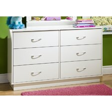 <strong>South Shore</strong> Logik Double 6-Drawer Dresser