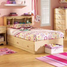 <strong>South Shore</strong> Lily Rose Twin Mates Bed