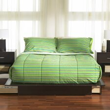 <strong>South Shore</strong> Back Bay Queen Size Platform Bed