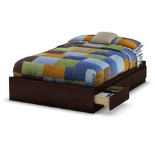 <strong>South Shore</strong> Willow Full Storage Platform Bed