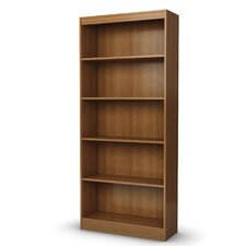 Axess Five Shelf Bookcase in Morgan Cherry
