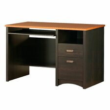 <strong>South Shore</strong> Gascony Desk in Ebony