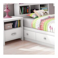 <strong>South Shore</strong> Tiara 1 Drawer Nightstand