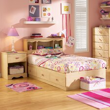 <strong>South Shore</strong> Lily Rose Mates Twin Captain Bedroom Collection