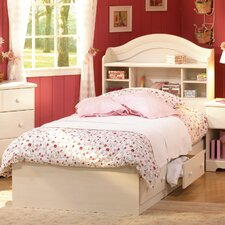 Summer Breeze White Wash Mates Bed