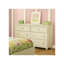 <strong>South Shore</strong> Hopedale 6 Drawer Chest
