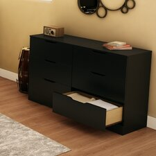 <strong>South Shore</strong> Holland 6 Drawer Standard Dresser