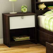 <strong>South Shore</strong> Cookie 1 Drawer Nightstand