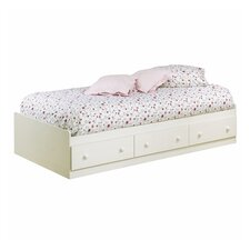 <strong>South Shore</strong> Summer Breeze White Wash Mates Bed Box