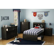 <strong>South Shore</strong> Quilliams Kids Mate's Headboard Bedroom Collection