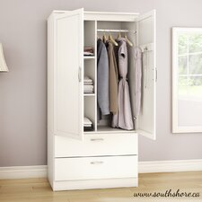 <strong>South Shore</strong> Acapella Wardrobe Armoire