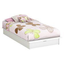 Twin Platform Bed with Storage III