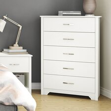 <strong>South Shore</strong> Fusion 5 Drawer Chest