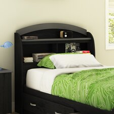 <strong>South Shore</strong> Lazer Twin Bookcase Headboard