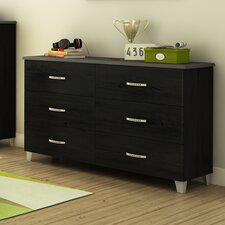 Lazer 6 Drawer Dresser