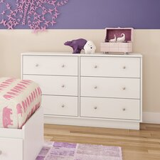 Litchi 6 Drawer Dresser