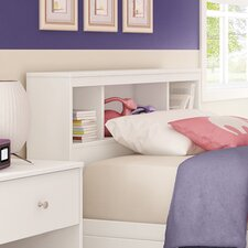 <strong>South Shore</strong> Litchi Twin Bookcase Headboard