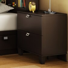 <strong>South Shore</strong> Karma 2 Drawer Nightstand