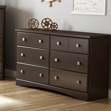 Morning Dew 6 Drawer Dresser