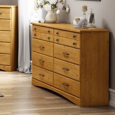 <strong>South Shore</strong> Cabana 8 Drawer Dresser