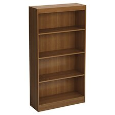 Axess Four Shelf Bookcase in Morgan Cherry