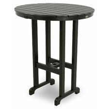 Trex Outdoor Monterey Bay Round Bar Table
