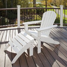 Trex Outdoor Cape Cod 2 Piece Folding Seating Set