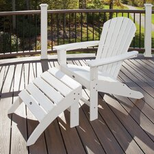 <strong>Trex Outdoor</strong> Trex Outdoor Cape Cod Adirondack Chair