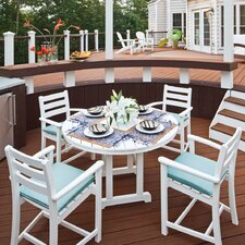 Trex Outdoor Monterey Bay 5 Piece Dining Set
