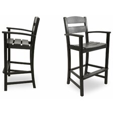 "<strong>Ivy Terrace</strong> Ivy Terrace 30.13"" Barstool (Set of 2)"