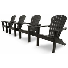 <strong>Ivy Terrace</strong> Ivy Terrace Classics 4 Piece Adirondack Seating Group