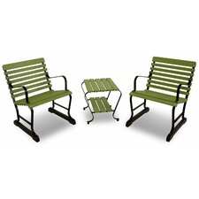 Ivy Terrace Vintage 3 Piece Seating Group