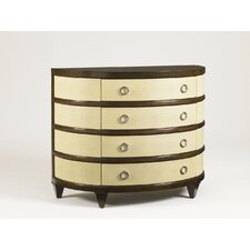 Demilune 4 Drawer Dresser