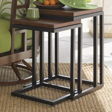 <strong>Tommy Bahama Outdoor</strong> Ocean Club Pacifica Nesting Table (Set of 2)