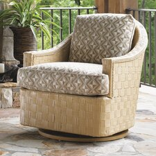 Canberra Surf and Sand Swivel Glider Chair