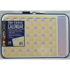 "<strong>Dooley Boards Inc</strong> 11"" x 17"" Calendar Dry Erase Board"
