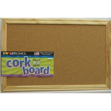 "Cork 11"" x 1' 5"" Bulletin Board"