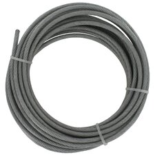 "360"" x 0.83"" Galvanized Cable"