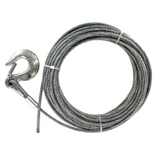 "1200"" x 0.25"" Galvanized Cable"