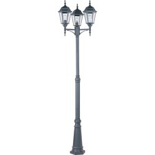 "3 Light 100"" Post Lantern Set"