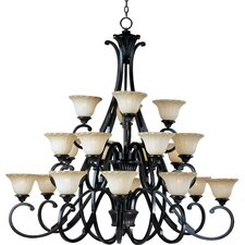 <strong>Maxim Lighting</strong> Allentown 20 Light Chandelier