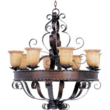 Benavente 8 - Light Single - Tier Chandelier