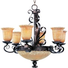 Benavente 6+3 - Light Multi - Tier Chandelier