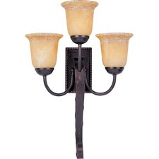 Aspen 3 Light Wall Sconce