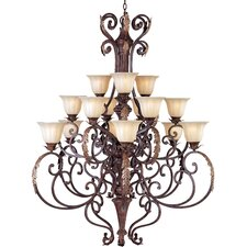 <strong>Maxim Lighting</strong> Augusta 15 Light Chandelier