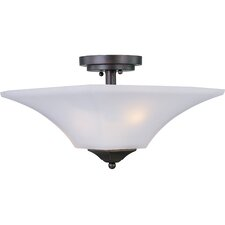 Aurora 2 Light Semi Flush Mount