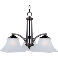 Alvaro 3 - Light Down Light Chandelier