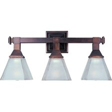 <strong>Maxim Lighting</strong> Brentwood 3 Light Vanity Light
